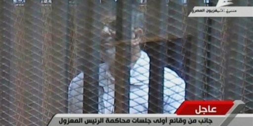 Mohammed Morsi Goes On Trial In Egypt