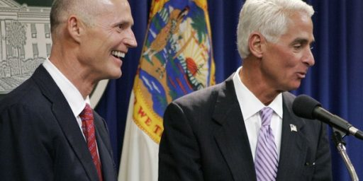 Crist Leads Scott In Florida Governor's Poll