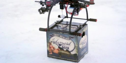 FAA Says No To Beer Delivery Drone