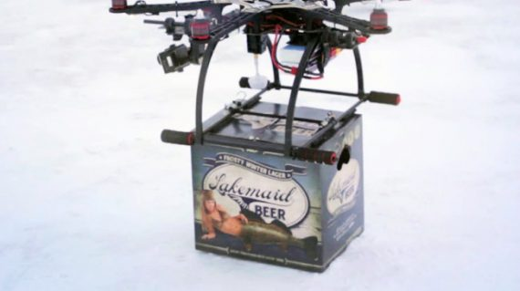 Drone Beer Delivery