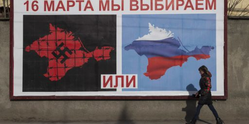 Russia Recognizes Crimean Independence, Paving Way For Annexation