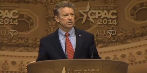Rand Paul Wins Meaningless Straw Poll For Second Year