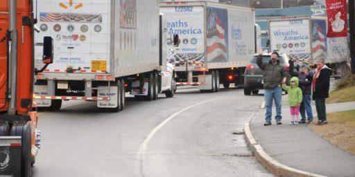Pentagon Orders Service Seals Off Wreaths Across America Trucks