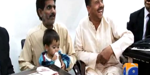 Pakistan Drops Attempted Murder Charges Against Baby