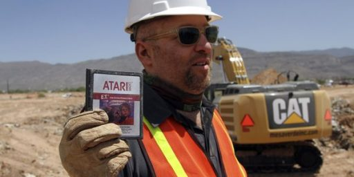 Hundreds Of Copies Of Worst Video Game Ever Found In New Mexico Landfill