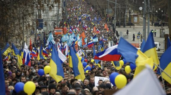 Russia Crimea Demonstration