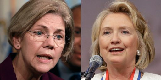 Elizabeth Warren: I Hope Hillary Runs In 2016