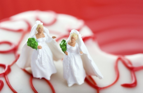Gay Marriage Wedding Cake Two Women