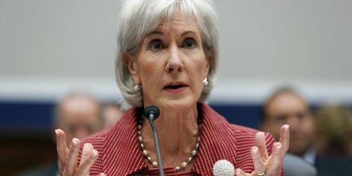 Kathleen Sebelius For Senate?