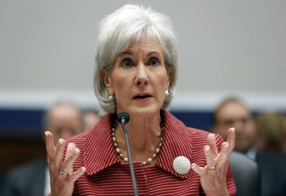 Kathleen Sebelius testifies before a House Education and the Workforce Committee hearing on Capitol Hill in Washington