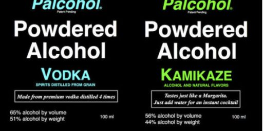 Coming To A Store Near You: Powdered Alcohol