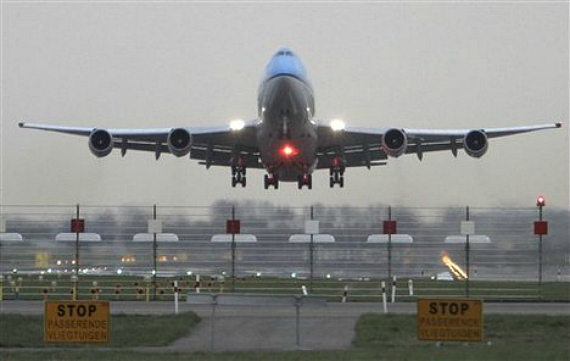 Passenger Jet Taking Off