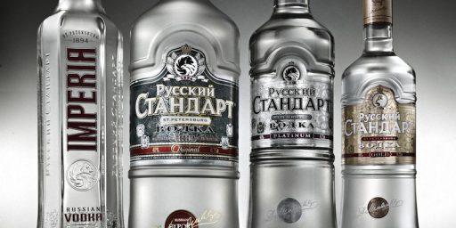 Russians Drinking Less Vodka