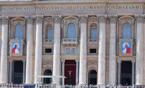 Vatican John XXIII John Paul II