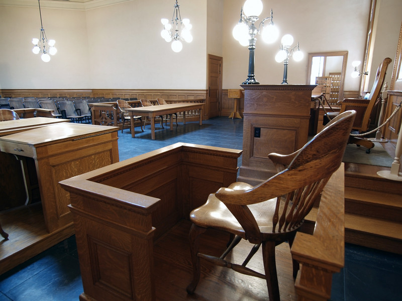 Witness Chair Courtroom