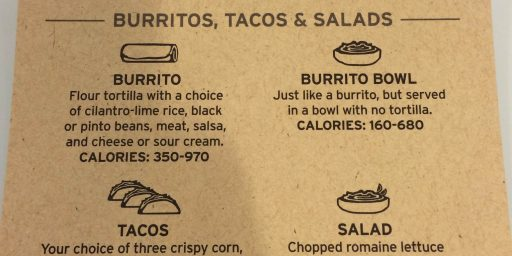 Don't Blame Chipotle for Useless Calorie Information