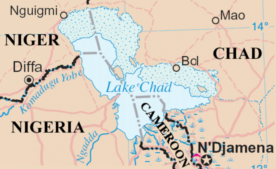 Chad Nigeria Map