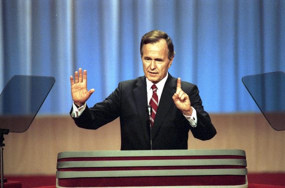 George HW Bush Convention 1988