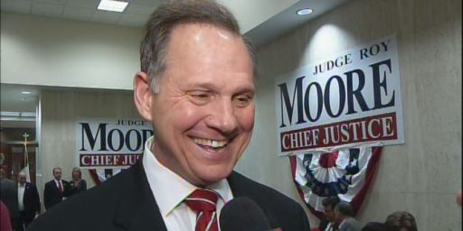 Alabama Chief Justice:  Ignore the Federal Court