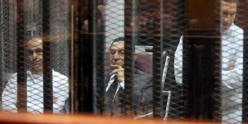 Hosni Mubarak Convicted Of Embezzlement In Egypt