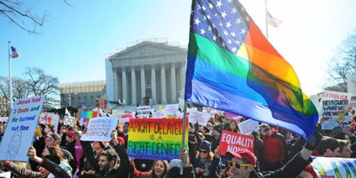 Majority Supports Constitutional Right To Same-Sex Marriage
