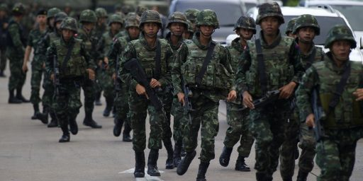 "Why Is Thailand's Military Coup A ""Coup,"" But Egypt's Wasn't?"