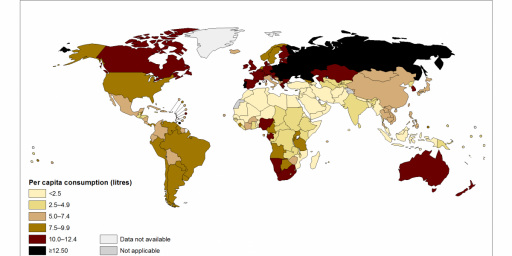 Where The World's Drinkers Are