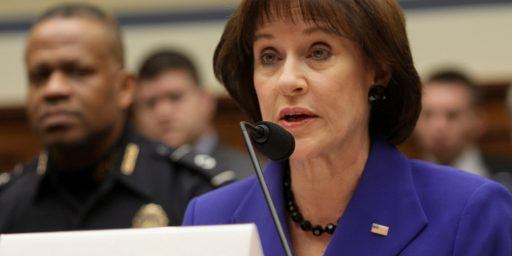 Citing Fifth Amendment, Justice Department Declines To Prosecute Lois Lerner For Contempt