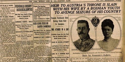 Sarajevo, The Media, And 'Breaking News' Coverage, 100 Years Later