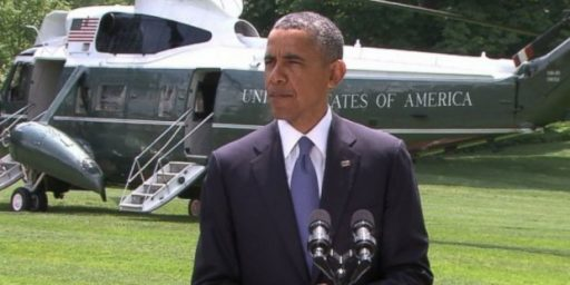 President Obama Must Not Act In Iraq Without Congressional Authorization