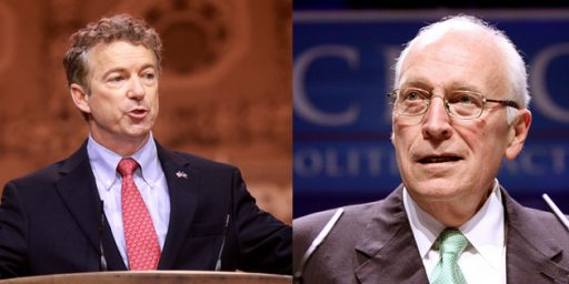 Rand Paul, Dick Cheney, And The Foreign Policy Battle Inside The GOP