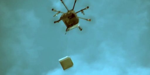 Russia Develops Pizza Delivery Drone While U.S. Lags Woefully Behind