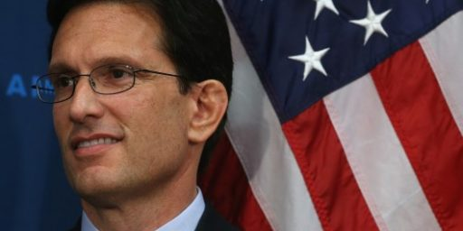 Eric Cantor To Step Down As Majority Leader
