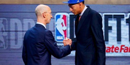 Isaiah Austin Picked 15-1/2th in NBA Draft