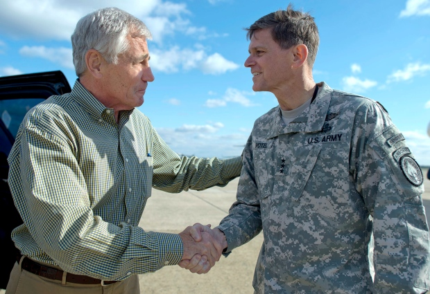 joseph-votel-with-chuck-hagel