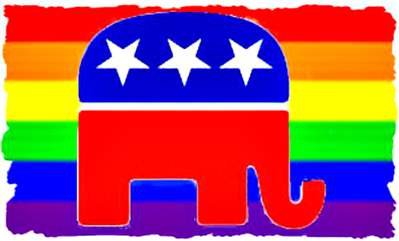 GOP Rainbow Flag