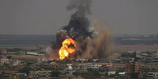 Israel Intensifies Attacks On Gaza, Hints At Ground Invasion