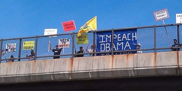 Impeach Obama Signs