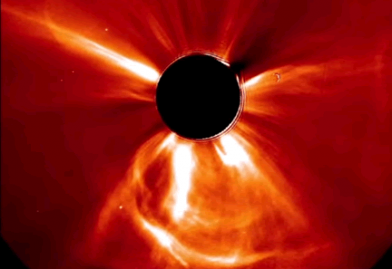 July 2012 Coronal Mass Ejection