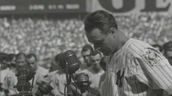 Lou Gehrig July 4 1939