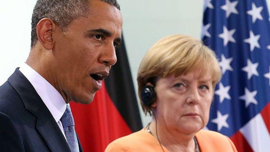 Obama Merkel
