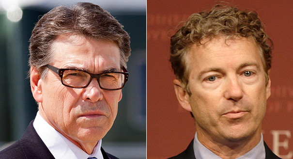 Rick Perry Rand Paul