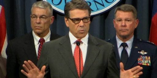 Rick Perry Sending National Guard To The Border For Reasons Even He Isn't Sure Of
