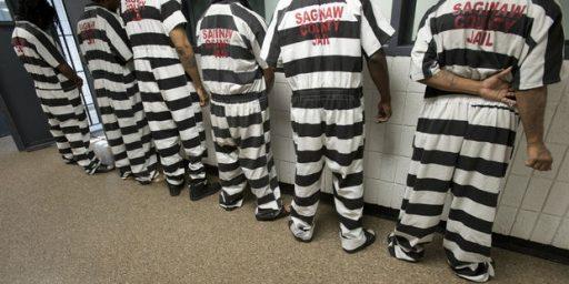 Black And White Stripes Are The New Orange