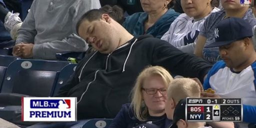 Sleeping Yankees 'Fan' Files Frivolous Lawsuit