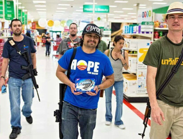 Target Open Carry