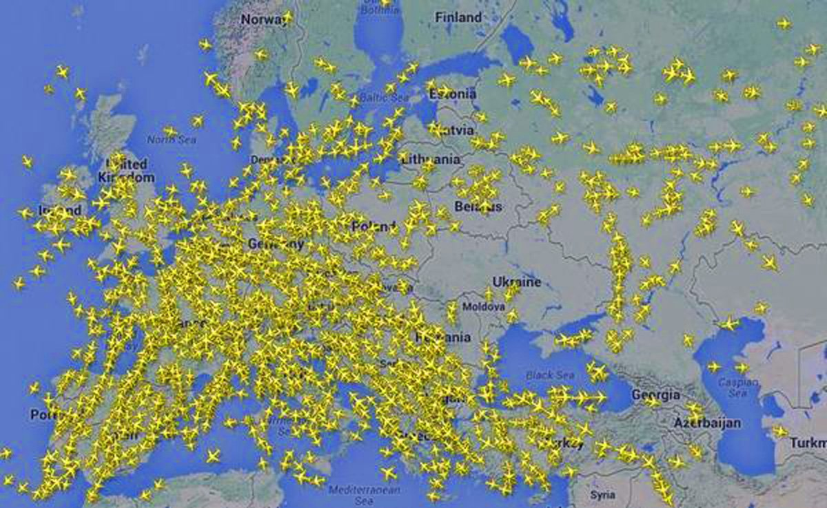 Ukraine Airspace After MH17