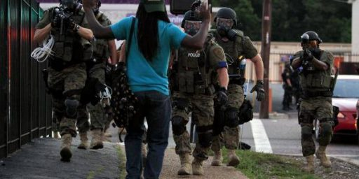 Obama Administration To Take Steps To Cut Back On Police Militarization