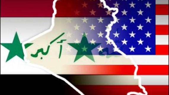 Iraq US Flag