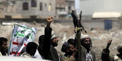 Yemeni Rebels Seize Portion Of Capital